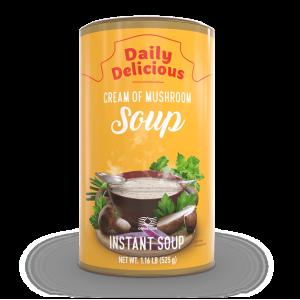 Daily delicious supă cremă cu ciuperci albe