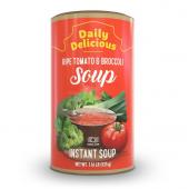 Daily delicious supă din roșii coapte și broccoli